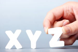 המתחרה החצופה של COM – כמעט 800,000 אתרים עם סיומת XYZ